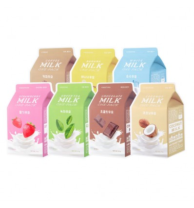 A'Pieu - Milk One-Pack Sheet Mask