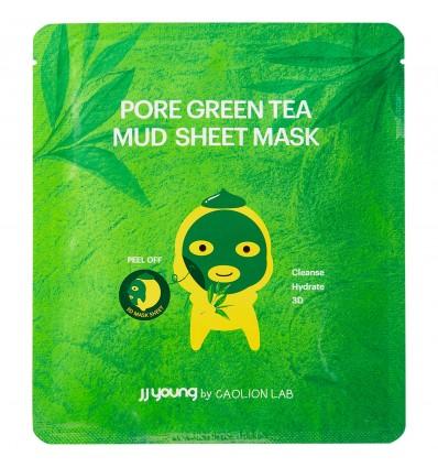 Pore Green Tea Mud Sheet Mask