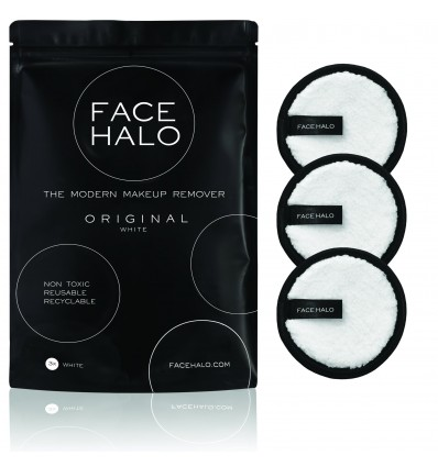 Face Halo White