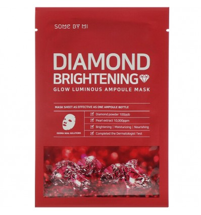 Diamond Brightening Calming Glow Luminous Ampoule Mask