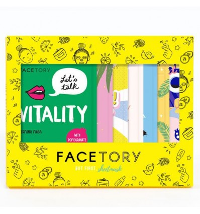 FaceTory Glowing Gift Set