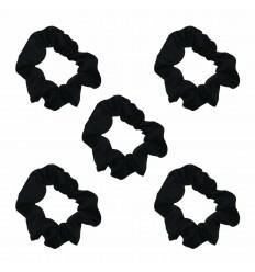 (Black) The Satin Scrunchie